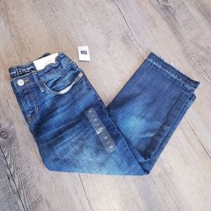 GAP KIDS | Regular Length Straight Crop Size 10